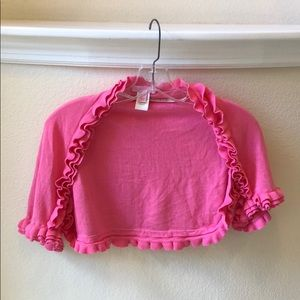 Lilly Pulitzer Shrug with Ruffles